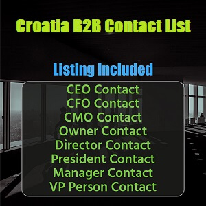 Croatia B2B Contact List