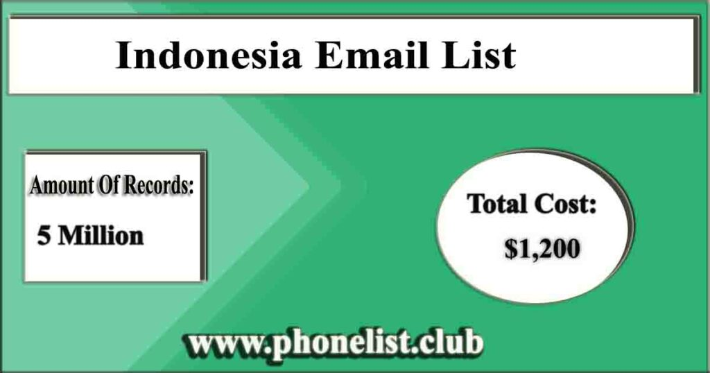 Indonesia Email List