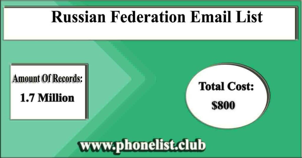 Russian Federation Email List