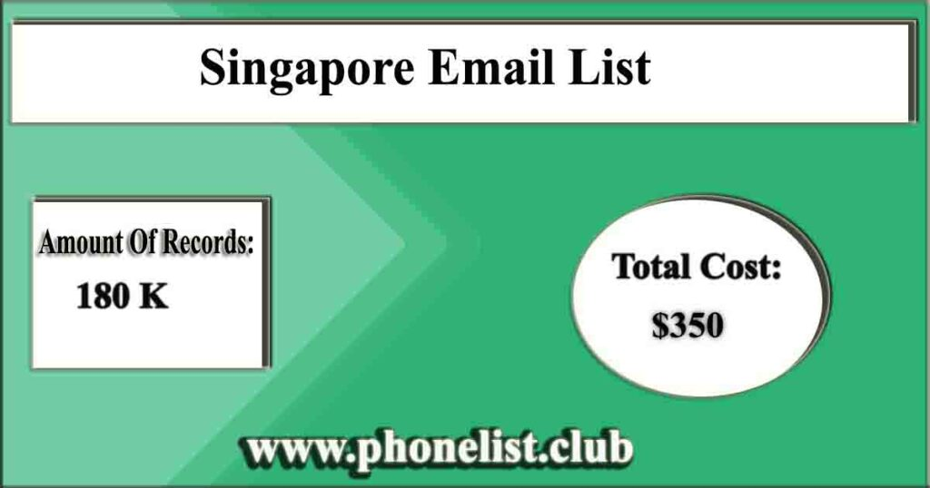 Singapore Email List